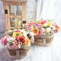 Pasztell FlorBox - színes szezonális virágokból
